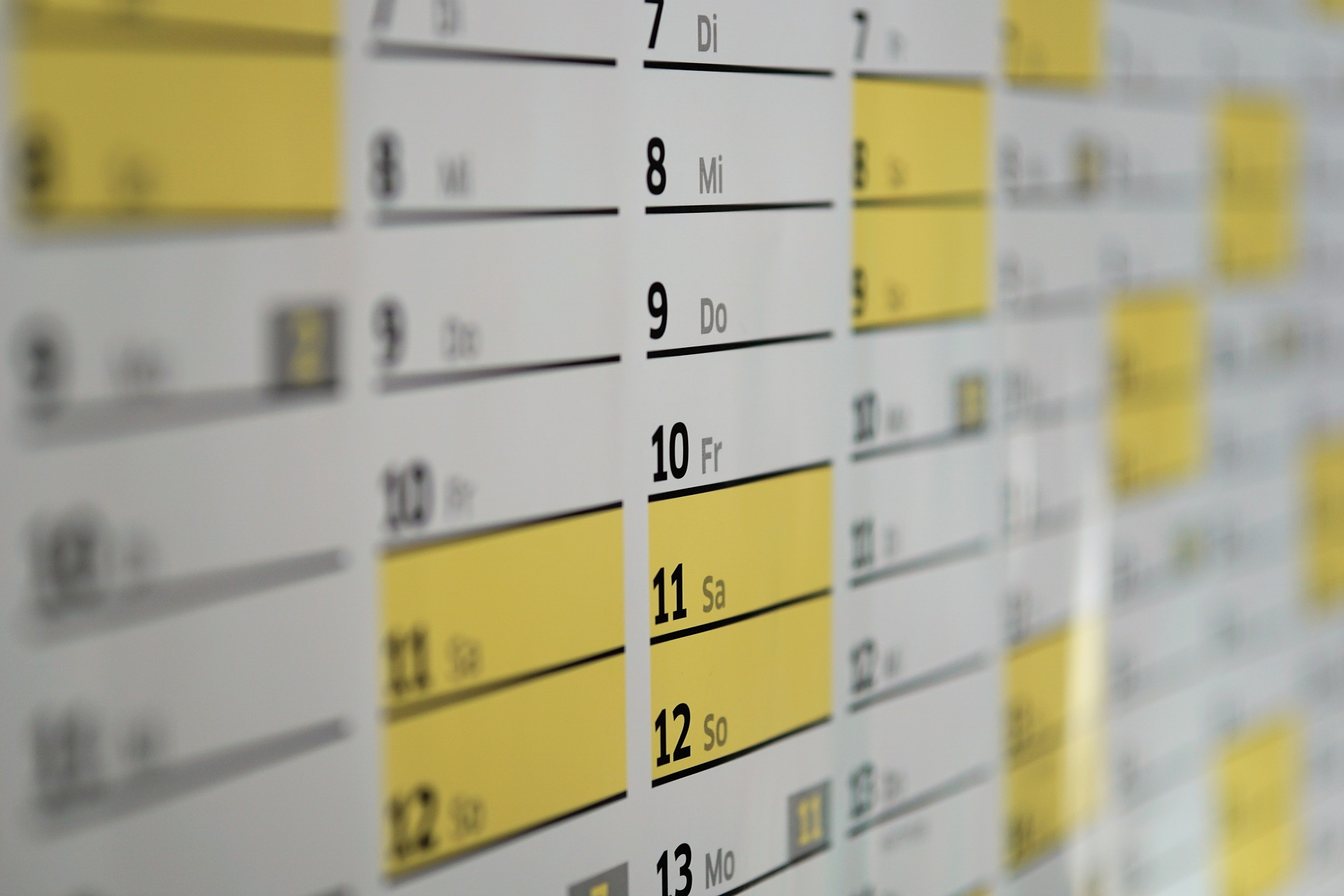 Calendario Escolar de Estados Unidos