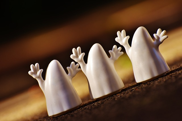 Figuras de fantasmas para Halloween