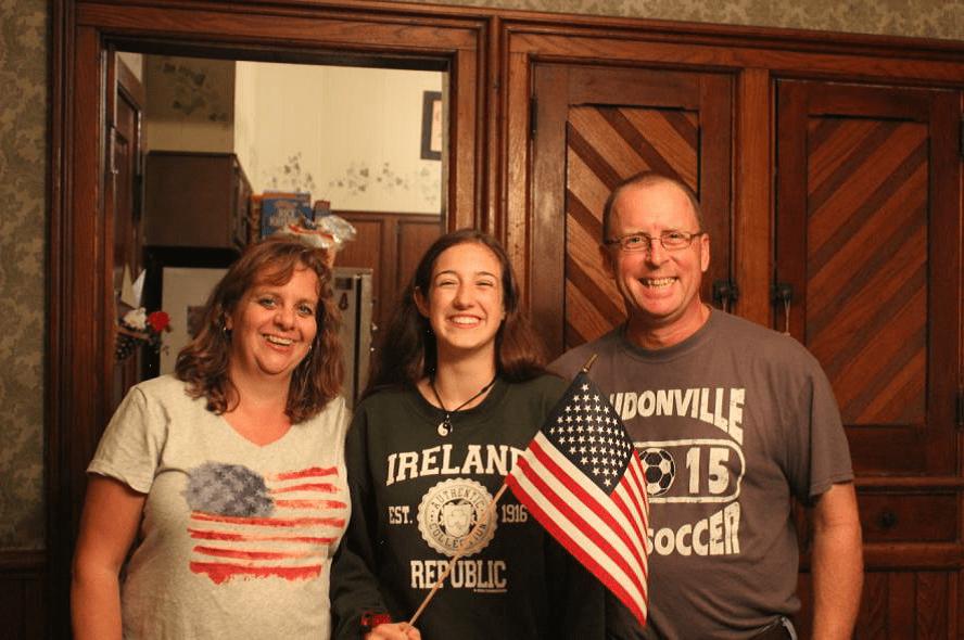 Año escolar em EEUU familias