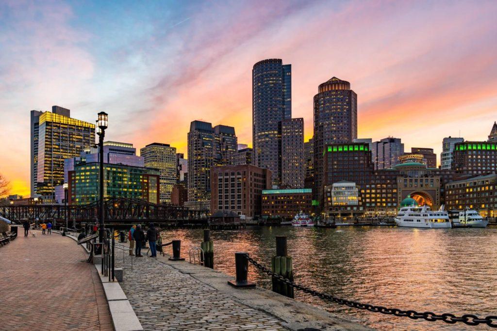 Boston estudiar inglés