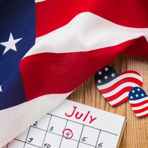 4 de julio en Estados Unidos